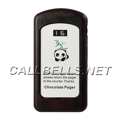 Coaster Pager CHOCOLATE